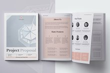 Project Proposal - Novel & Band by Olga Davydova in Brochures