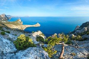 Coastline of Novyj Svit reserve