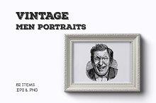 Vintage Male Portraits