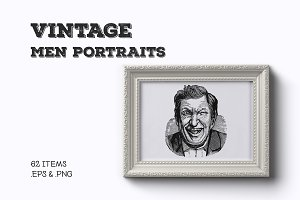Vintage Male Portraits