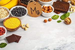 Assortment of high magnesium sources