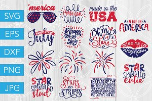4th of July SVG Bundle July Fourth