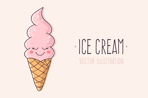 Ice Cream Character