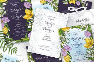 Romantic Spring Wedding Suite