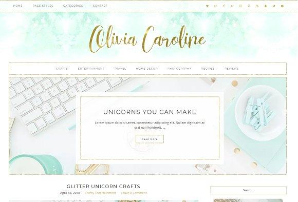 Olivia Wordpress Theme