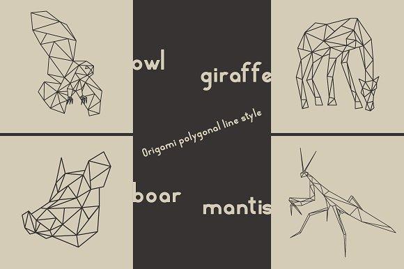 Origami Owl Giraffe Boar Mantis