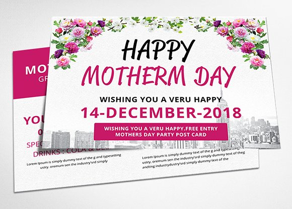 Mothers Day Postcard