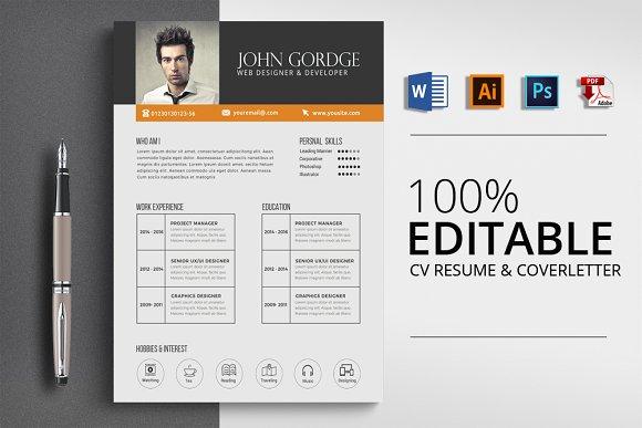 Clean Word Format Resume