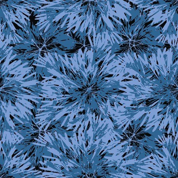 Modern Nature Print Pattern