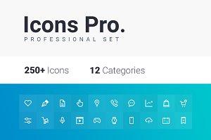 Icons Pro. Professional set