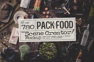 PACK&FOOD Creator / topview