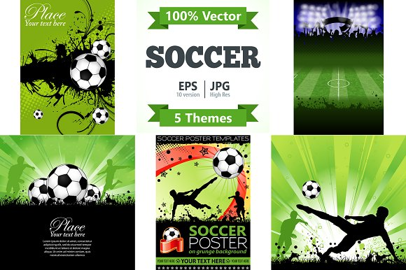 Soccer Posters and Concepts