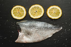 raw bream fish