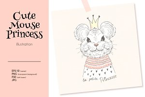 Cute Mouse Princess