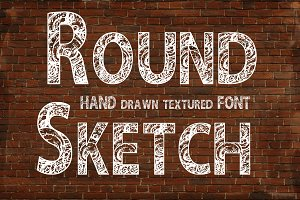 Round Sketch font