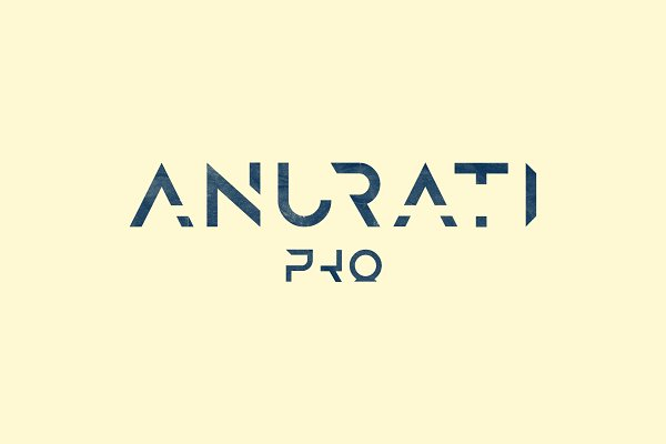 Display Fonts: e—r. fonts & typefaces - Anurati Pro — typeface (2 weights)