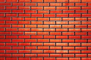 Bricked street wall texture background
