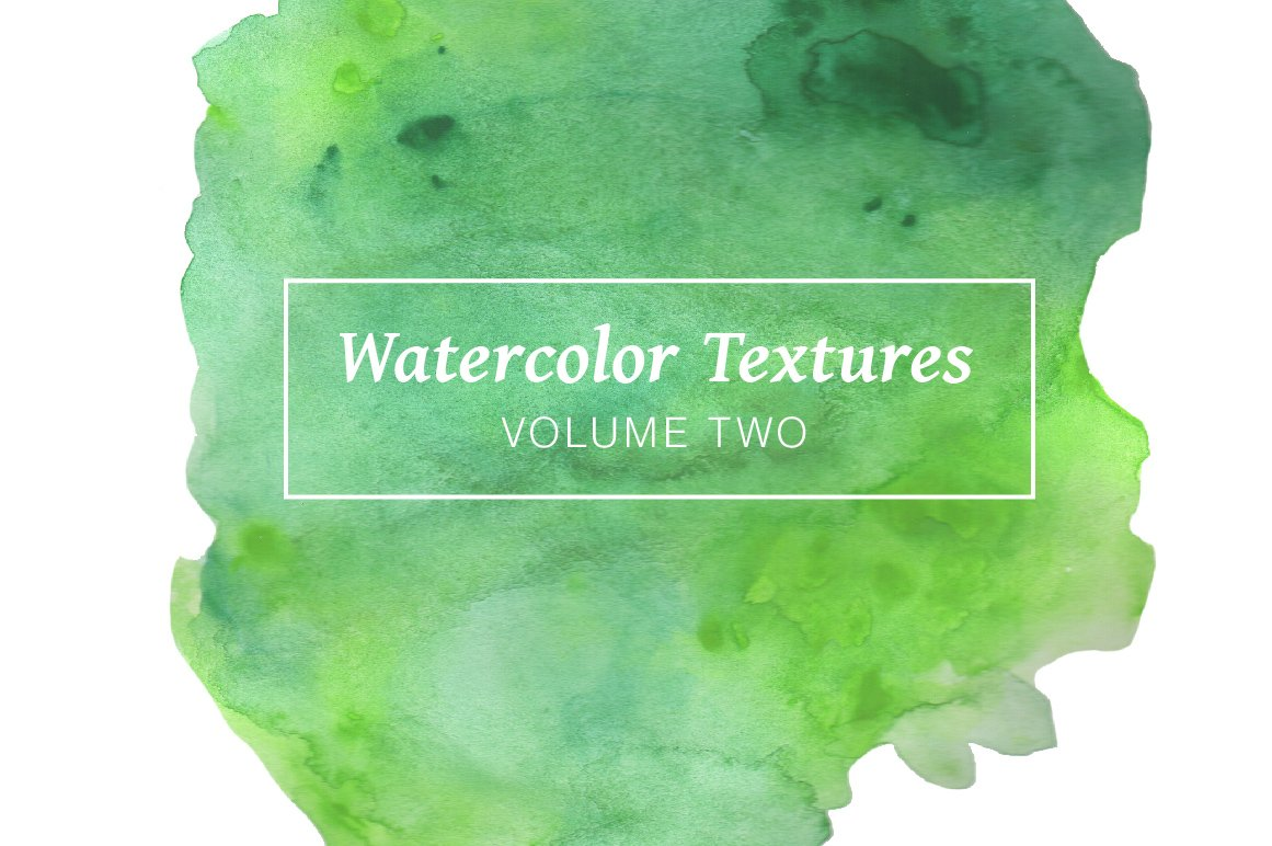 Cassandra cappello graphic design toronto - Green Watercolor Textures Volume 2