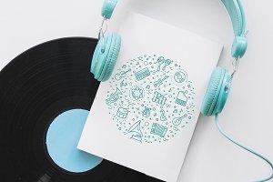 Line Arts concepts, Icons set