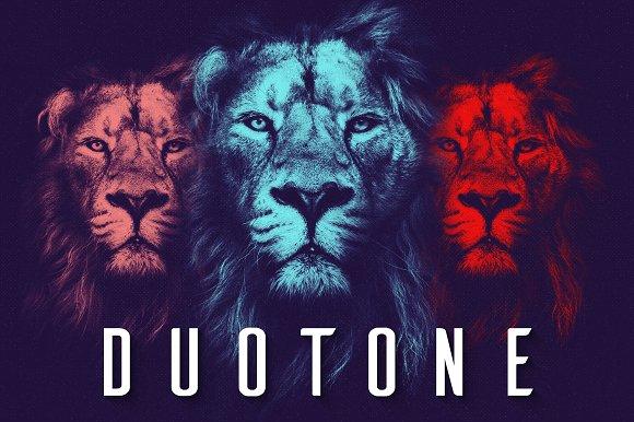 Duotone Gradients