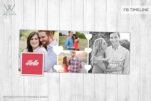 Engagement FB timeline cover