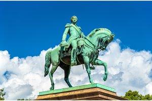 Equestrian statue of Karl Johan in Oslo