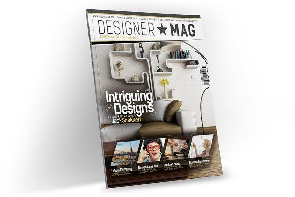 Magazine Template InDesign 08