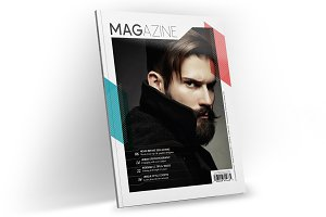 Magazine Template InDesign 09