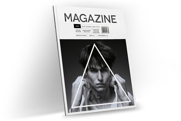 Magazine Template InDesign 10 in Magazine Templates