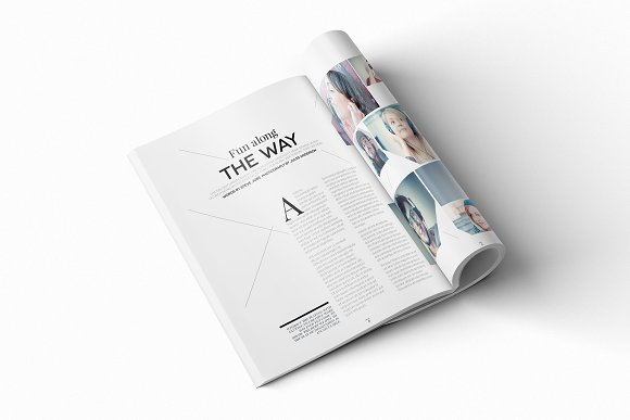 Magazine Template InDesign 10 in Magazine Templates - product preview 1