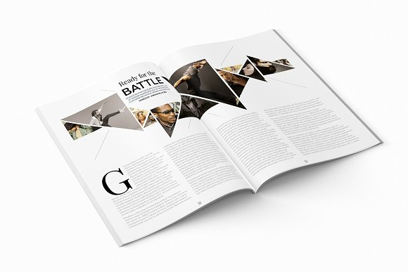 Magazine Template InDesign 10 in Magazine Templates - product preview 2