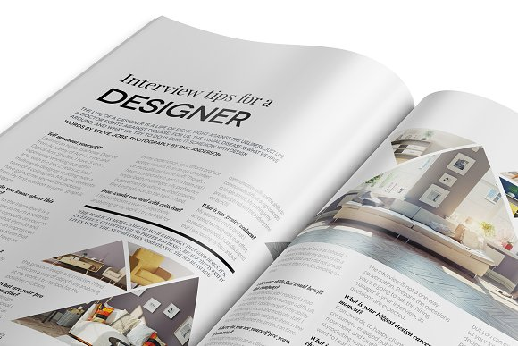 Magazine Template InDesign 10 in Magazine Templates - product preview 4