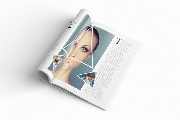 Magazine Template InDesign 10 in Magazine Templates - product preview 6
