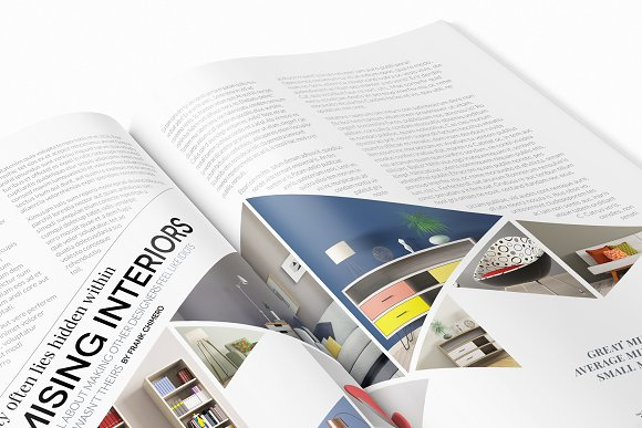 Magazine Template InDesign 10 in Magazine Templates - product preview 7