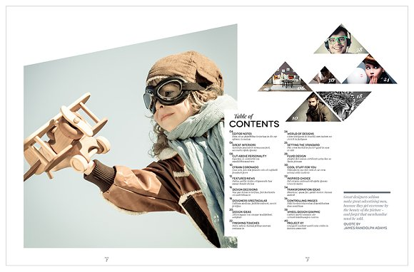 Magazine Template InDesign 10 in Magazine Templates - product preview 9