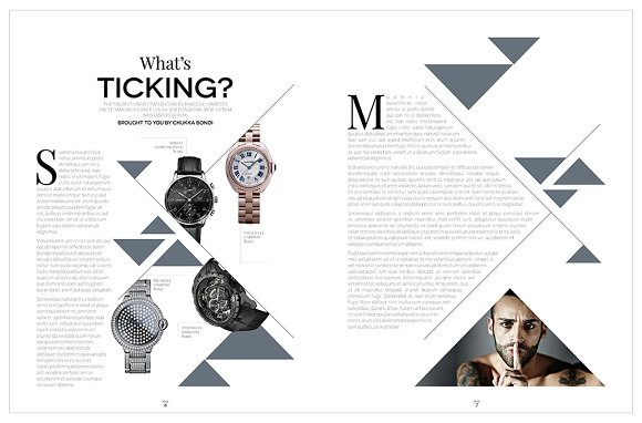Magazine Template InDesign 10 in Magazine Templates - product preview 11