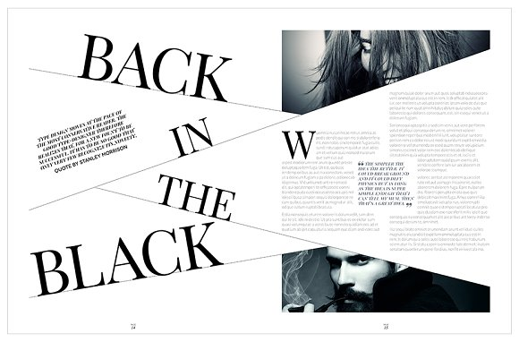 Magazine Template InDesign 10 in Magazine Templates - product preview 15