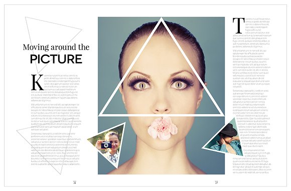 Magazine Template InDesign 10 in Magazine Templates - product preview 16