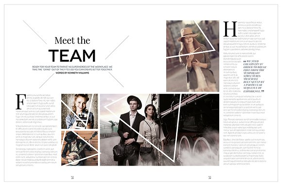Magazine Template InDesign 10 in Magazine Templates - product preview 17