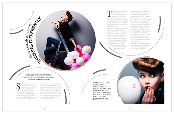 Magazine Template InDesign 10 in Magazine Templates - product preview 18