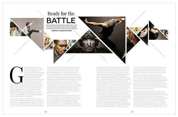 Magazine Template InDesign 10 in Magazine Templates - product preview 19