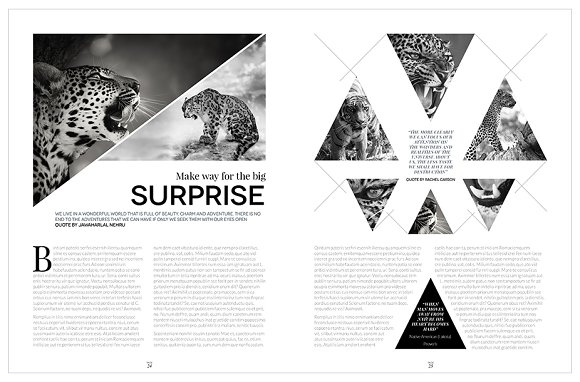 Magazine Template InDesign 10 in Magazine Templates - product preview 20