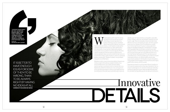 Magazine Template InDesign 10 in Magazine Templates - product preview 22