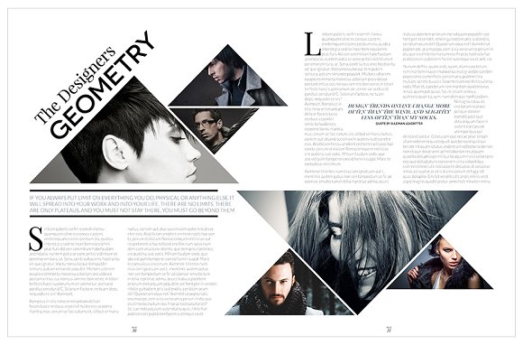 Magazine Template InDesign 10 in Magazine Templates - product preview 23