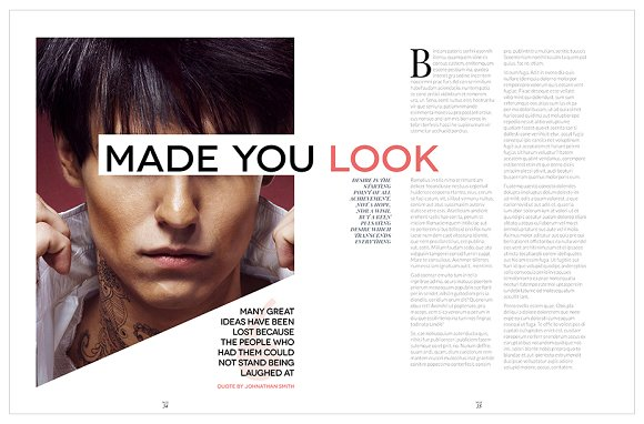 Magazine Template InDesign 10 in Magazine Templates - product preview 25