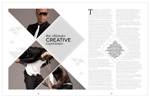 Magazine Template InDesign 10 in Magazine Templates - product preview 26