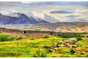 Thingvellir National Park, a UNESCO World Heritage Site - Iceland