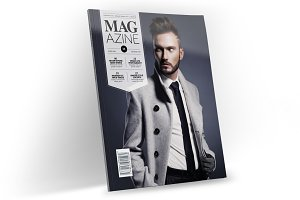 Magazine Template InDesign 12