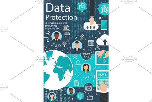 Vector Internet Data Protection Technology Poster