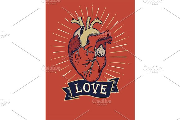 Love Concept T-shirt Print And Embroidery